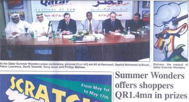 Qatar Summer Wonders - Launching Event